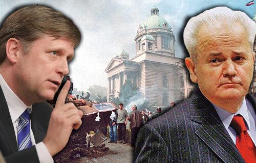 """CIA finansirala RUŠENJE Miloševića! Spasić otkrio za Objektiv: """"Mekfol je agent prerušen u ambasadora"""""""