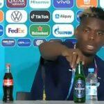 Pogba kao Ronaldo, da li je ovo neki dogovor? Francuz sklonio flašu piva sa stola! (VIDEO)