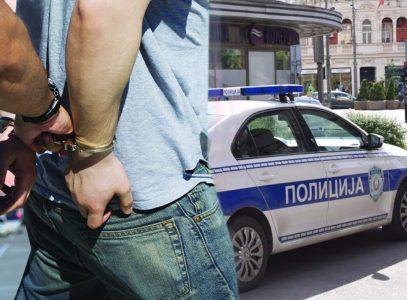 Velika AKCIJA policije kod Studenjaka: Interventna presrela kombi, pa izvukla i OBORILA mladiće na zemlju