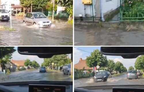 Stravično NEVREME pogodilo Šabac: Pod vodom garaže stambenih zgrada, građani van sebe (FOTO+VIDEO)