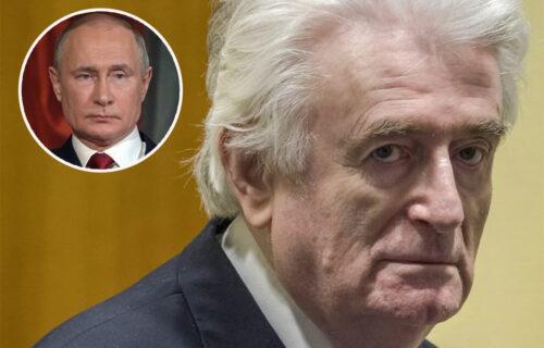 """Karadžić traži RUKU SPASA od Putina: Uputio mu pismo i oslovio ga sa """"brate"""" - evo šta mu je rekao"""