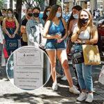 Šoping u Solunu pretvorio se u PAKAO: Srbi po suncu SATIMA čekaju u redu, evo šta najviše kupuju (FOTO)