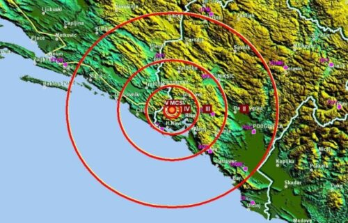 Ponovo se TRESLO u Crnoj Gori: Novi zemljotres u blizini Herceg Novog