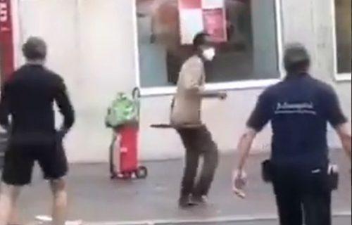 Užas u Nemačkoj, građani preplašeni: Muškarac UBIO troje, a IZBO šestoro ljudi (UZNEMIRUJUĆ VIDEO)
