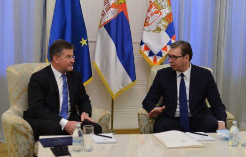 Predsednik Vučić danas sa Lajčakom: Predstavnik EU u dvodnevnoj poseti Srbiji