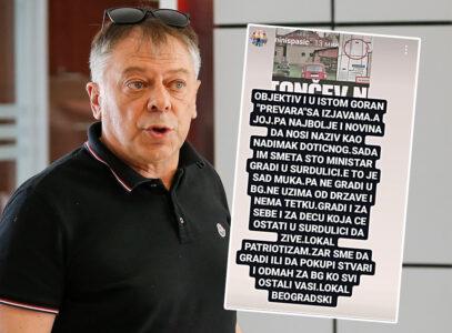 Tončevu smeta UDAR na mafiju: Preko bliskog saradnika NAPADA ministra Vulina (FOTO)