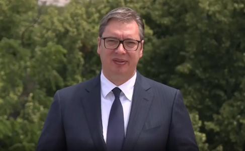 """Predsednik Vučić objavio snimak i poslao SNAŽNU poruku: """"Da Srbija nastavi da napreduje"""" (VIDEO)"""