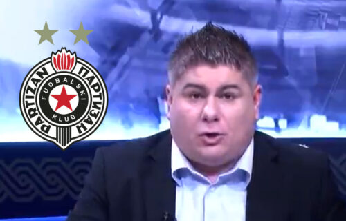 """Hrvat isprozivao Partizan i """"grobare"""": Sramotne reči - taj klub ružnog imena i njegovi navijači (VIDEO)"""