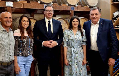 Predsednik Vučić uskoro stiže u manastir Prohor Pčinjski: Posetio je i vinariju u Vranju (FOTO)