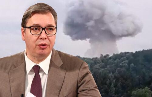 """UDAR na državu! Eksplozije u čačanskoj """"Slobodi"""" podmetnula MAFIJA? Oglasio se i predsednik Vučić (FOTO)"""
