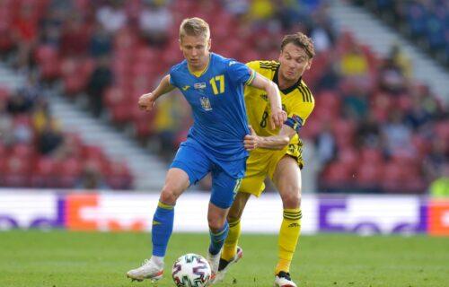 Švedska pritiskala, Ukrajina povela: Zinčenko postigao fenomenalan pogodak za vođstvo! (VIDEO)