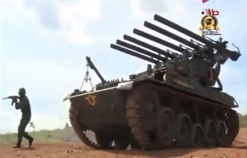 Neobičan projekat iz Venecuele: Tenk sa ŠEST topova i minobacačem u žestokoj akciji (VIDEO)