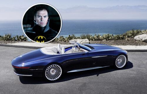 Betmen za volanom Vision Mercedes-Maybacha: Ovakav prizor je moguć samo na filmu (FOTO)