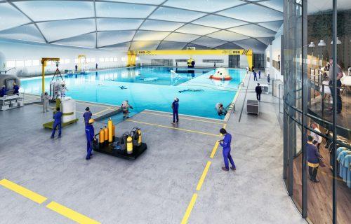 Gradi se NAJDUBLJI bazen na svetu: Koštaće 210 miliona dolara i služiti za obuku astronauta (VIDEO)