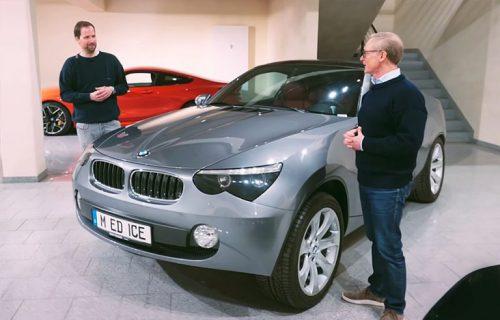 Pokrenuo je crossover groznicu, a ljudi NISU ČULI za njega: BMW predstavio Ice koncept (VIDEO)
