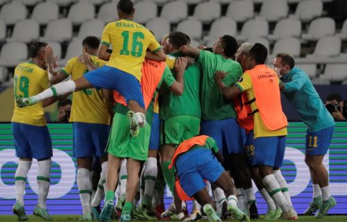 LUDNICA! Kolumbija povela makazicama, Nejmar promašio prazan gol, Brazil pobedio u 100. minutu (VIDEO)