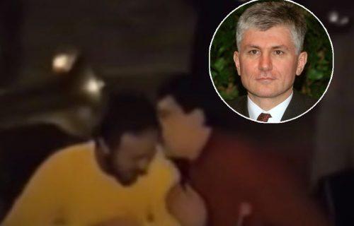 SNIMAK VESELJA nastao 6 meseci pre ubistva Đinđića: Kum i Šiptar vade pištolje uz trubače (VIDEO)