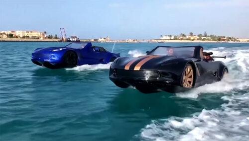 Izgleda kao automobil, ali vozi po vodi! Kako su trojica inovatora iz Egipta osvojila svet (VIDEO)