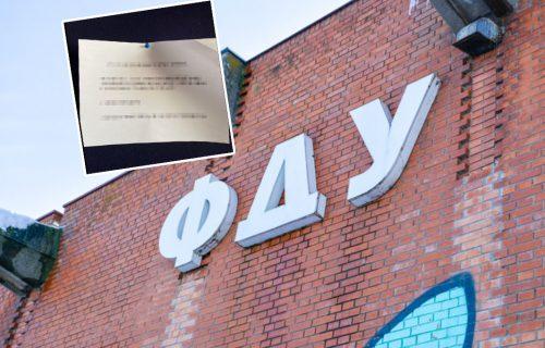 Izašlo UPOZORENJE za studente FDU: Oglasio se dekanat i poslao važan apel (FOTO)