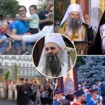 Patrijarh se ZAHVALIO srpskom narodu: Veličanstvena LITIJA u prestonici okupila desetine hiljada vernika