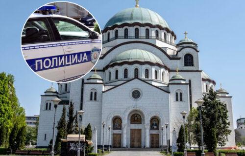 TEŠKA NESREĆA kod Hrama Svetog Save: Motociklista pokosio više pešaka, ima povređenih