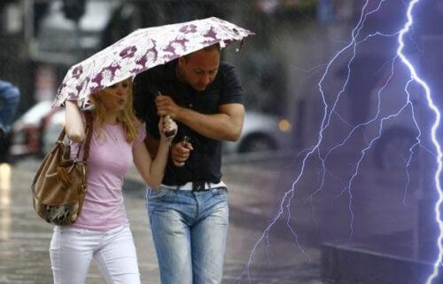 NESTABILNO vreme u čitavoj Srbiji: Očekuju se NEPOGODE praćene velikom količinom padavina i gradom
