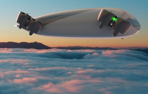 Leteći AUTOBUS iz štampača: Prevoziće 40 putnika i imati MOĆNE baterije (VIDEO)