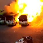 Izgoreli kao šibica! Pogledajte kako električni autobusi nestaju u plamenu, šteta je ogromna
