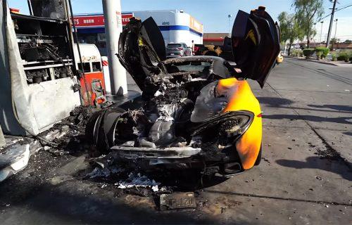 Bolno za gledanje: Još jedan luksuzni McLaren nestao u plamenu, šteta je ogromna (VIDEO)