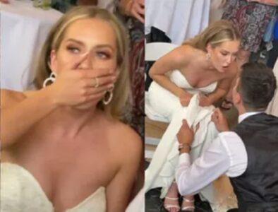 Ups! Na venčanju nastao muk kada je na red stigao običaj koji simbolizuje NEVINOST mlade (VIDEO)