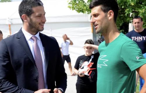 Udovičić čestitao Đokoviću: Novak sport pretvara u magiju! (FOTO)