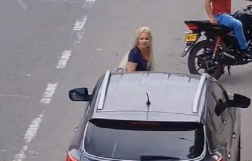 Videla dečkov auto kako se LJULJA na ulici, pa ga napala da je vara: Usledio je ŠOKANTAN obrt (VIDEO)