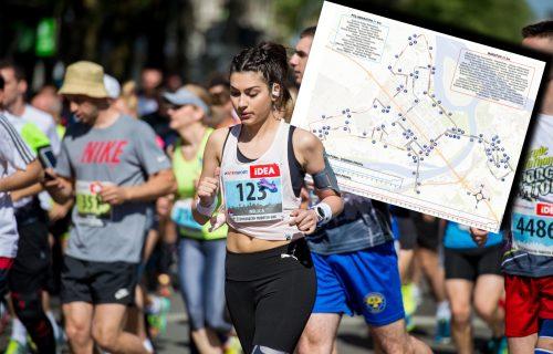 Maraton sutra ZATVARA BEOGRAD! Obratite pažnju: Blokirano 50 ulica, promene na 80 linija GSP (MAPA)
