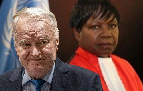 """Izdvojeno mišljenje sudije Nijambe: """"Mladić je branio srpski narod od genocida, to je legitiman cilj"""""""