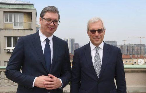 """Vučić se sastao sa Gruškom: """"Ko vam je prijatelj uvek se najjasnije vidi u teškim trenucima"""" (FOTO)"""