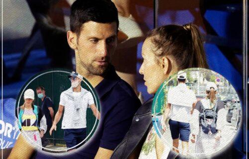 Paparaci uhvatili Novaka i Jelenu pred finale Rolan Garosa: Neobične scene u Parizu (FOTO)