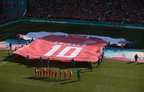 Prekinut EURO zbog Eriksena: Gest Belgijanaca na startu duela protiv Danske je za poštovanje (VIDEO)