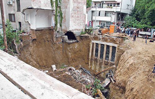 KRIVIČNE prijave za urušavanje zgrade na Vračaru: Po hitnom postupku inspekcija donela nekoliko rešenja