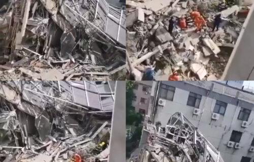 JEZIVE scene u Kini: Srušio se hotel, ima MRTVIH i povređenih, traga se za nestalima (FOTO+VIDEO)