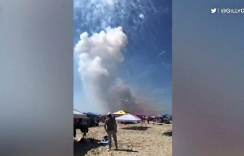Proslava krenula naopako: Istovarali vatromet na plaži, a onda je usledila EKSPLOZIJA (VIDEO)