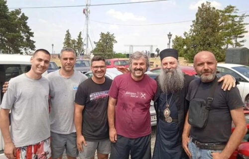 Patrijarh Porfirije na Egzitu: Izazvao ODUŠEVLJENJE posetilaca - srdačno ga pozdravili (FOTO)