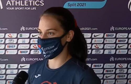 Srbijo, pozdravi svoje novo atletsko čudo: Adriana opet oborila evropski rekord (VIDEO)