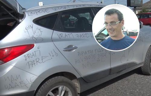 """""""Razvela sam se zbog tebe, vrati PARE"""": Predrag iz Obrenovca se ŠOKIRAO kad je video svoj auto (VIDEO)"""