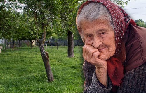 Mara je isekla KRUŠKU u dvorištu kako je deca ne bi brala, a onda se dogodilo ČUDO