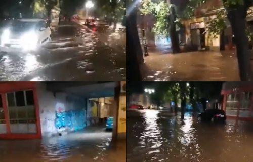Nevreme PARALISALO Suboticu: Intenzivne padavine potopile ulice, automobili zaglavljeni u vodi (VIDEO)