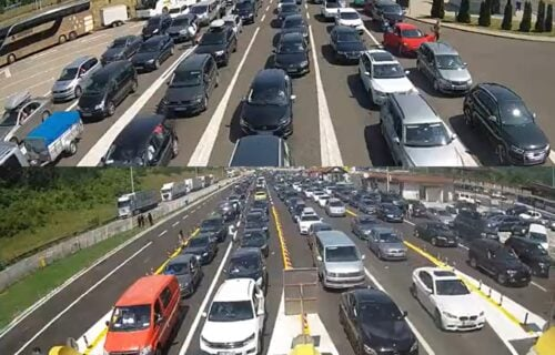 AMSS: Ogromne KOLONE na graničnim prelazima, čeka se satima - evo gde je najveći ZASTOJ (FOTO)