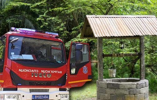 HOROR kod Kruševca: U BUNARU pronađeno telo žene - vatrogasci izvukli utopljenicu
