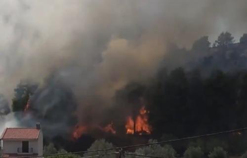 Grčka u PLAMENU! Požari na Peloponezu, Epidaurusu, Eviji - vatrena stihija zahvatila i Halkidiki (VIDEO)