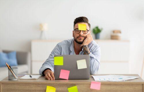 Imate problem sa koncentracijom? Pet loših navika zbog kojih ste manje produktivni na poslu