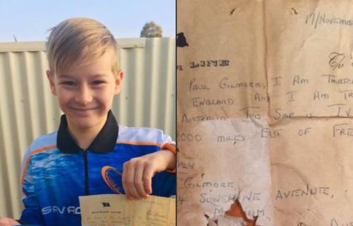 Otac i sin pronašli poruku u boci staru 50 godina: Autor je imao jednu VAŽNU MOLBU za pronalazača (FOTO)